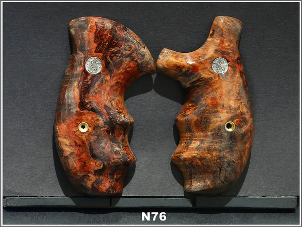 Black Red Stabilized Maple Burl